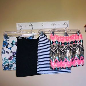 Forever 21 size large skirts!!